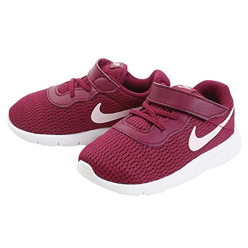 Price comparison product image Nike Girl's Tanjun (TD) Toddler Shoe True Berry / Pink Foam / White Size 10 M US