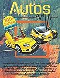 Autos Malbuch für Teenager. Groß 200+ Seiten. Mehr als 100 Automodelle, Busse...