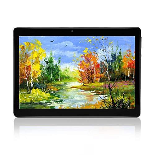 HOPESUNIN 10.1 Inch Android 9.0 Tablet PC, 4GB RAM 64GB Storage,Dual Camera Sim Card Slots, Bluetooth 4.0,WiFi, GPS,1280x800 HD IPS Screen