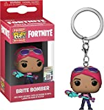 Fortnite - Funko Llavero con Anilla Brite Bomber Pocket Pop! 4cm...