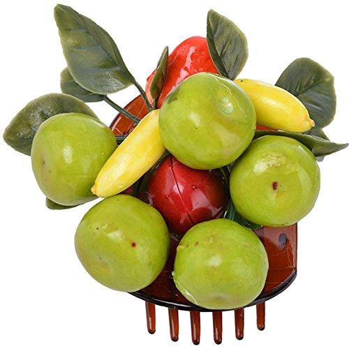 Unbekannt Cute Tiki Fruit Obstsalat 50s Cherry Haarspange Rockabilly