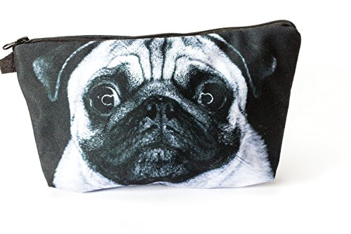 Premium Cudddle Pug Allround tas make-up make-up tas toilettas stiftenetui etui etui reizen portemonnee Cosmetic Bag