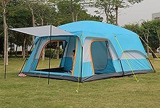 6 10 12 dubbelskikt utomhus 2vardagsrum och 1hall familj campingtält i stort utrymme tält