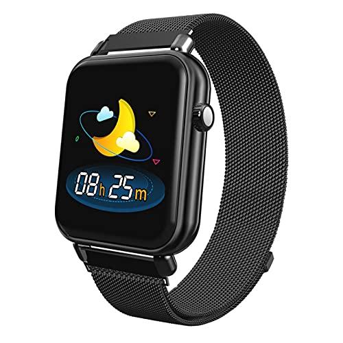 QHG Pantalla de Color Pulsera Inteligente Tasa del corazón Presión Arterial Monitor de sueño Monitor de Aptitud Fitness Tracker para iOS Reloj Inteligente de Bluetooth Aftroot Aftroid Aftroid