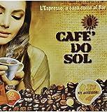 100 Capsules Compatible Nespresso original line machines! Cafe' Do Sol (100) Espresso from Brazil! Made In Italy!