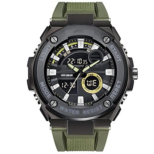 WTYU Relojes Pulsera, Reloj Deportivo Digital con Alarma Y Funciones De Cronómetro Strack Y Resina Resistente Al Agua D