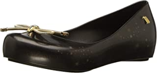 حذاء باليه مسطح للفتيات الصغيرات من ميليسا ميل ألترا جيرل إيليمينتس