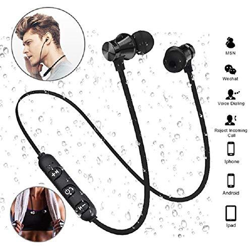 Magnetische Bluetooth V4.2 Stereo Sport Waterproof oordopjes draadloze headset met microfoon voor slimme telefoon.