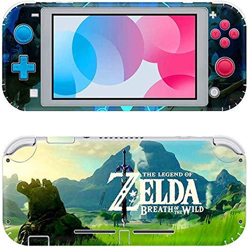 Switch Lite Pegatina, Llustración De Etiqueta De Piel, Adecuada para Película Protectora De Etiqueta De Piel De Switch Lite (La Leyenda de Zelda)