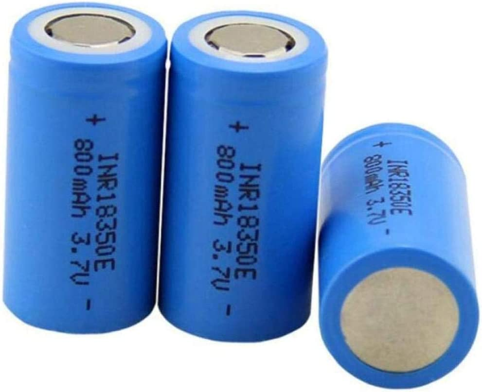 10pcs 18350 Power Lithium Battery 10c One Full Seasonal Discount mail order Wrap Introduction Capacity Product