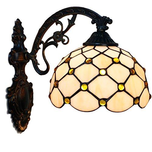 Fabakira Wandleuchte Luxus Wand Tiffany Stil Innenausstattung Schlafzimmer Licht Lampenschirm Glas Dekorative