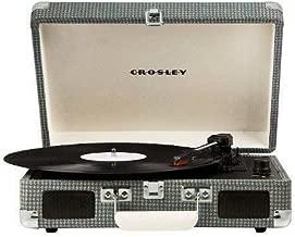 Crosley Cruiser 3-Speed Portable Turntable-Gray Tweed