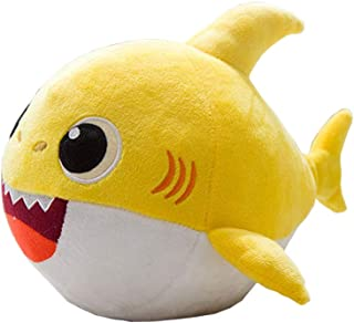 QTIVY Baby Shark Singing Plush Toy Adorable Dancing Shark Stuffed Animal Doll Great Gift for Baby & Toddler