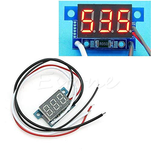 LIUXIA Mini-Amperemeter/Amperemeter, LED, 0-999 mA Gleichstrom, 4-30 V