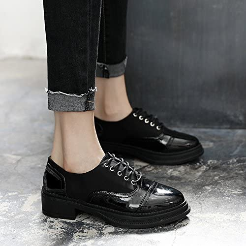 GTVERNH-Les Cuirs Les Chaussures Les Chaussures Les Chaussures Oxford étudiants Peinture