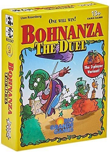 Rio Grande Games RGG547 Bohnanza The Duel Kartenspiel