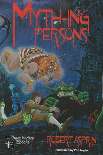 Myth-ing Persons (Myth-Adventures Book 5) (English Edition)