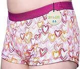 DRY & COOL Tages-Inkontinenzslip für Mädchen   Unterwäsche   Waschbar   Absorbierende Einlage   Hearts   134-140 cm (9-10 Jahre)