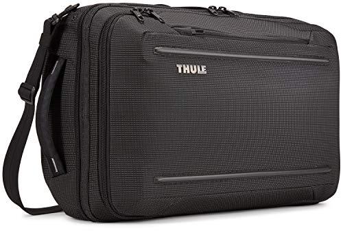 Thule Unisex's Crossover 2 Laptop Bag, Black, 17.3 x 5.9 x 12.6 in