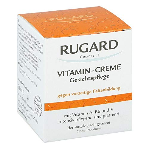 RUGARD Vitamin Creme Gesichtspflege, 50 ml