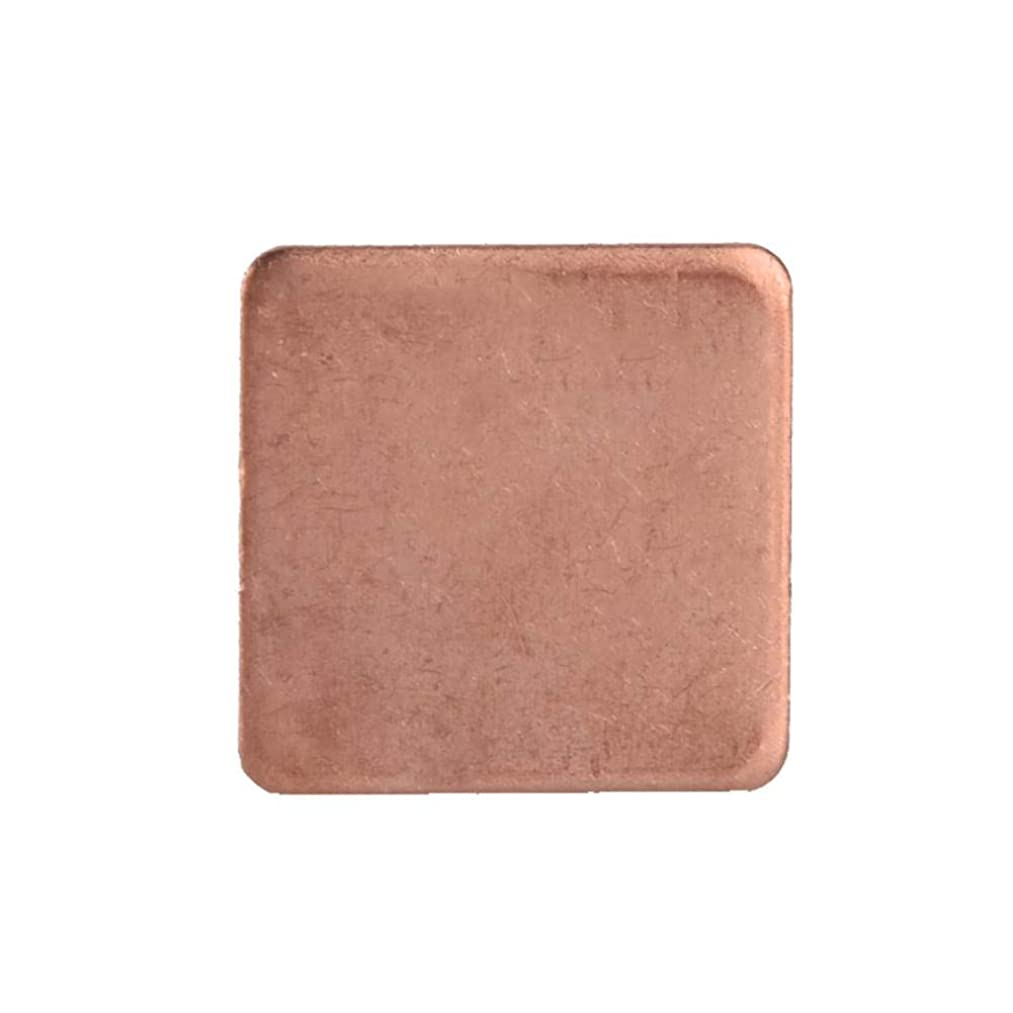 Diyeeni Copper Shim 10 Pcs Efficient Fast Heat Dissipation Shim Piece Heat Sink Thermal Pad Suitable for GPU CPU Laptop,6 Kinds of Thickness Optional(0.5mm)