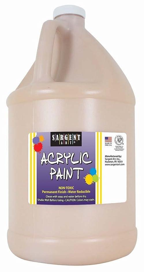 Sargent Art Half Gallon Acrylic Paint Peach, (64-Ounce, 1/2 Gallon) 22-2787