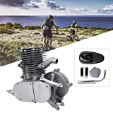 Alomejor Motor Engine Bike Kit 100cc 2-Stroke Fuel Gas Powered DIY Motorized Bike Bicycle Motor Engine Kits