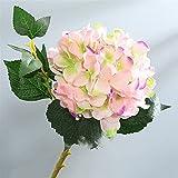 TXXT Flor Artificial Flowr de Seda de Hortensia Artificial, Flor Falsa, Boda año Nuevo Fiesta jardín Sala de Estar decoración (Color : B)