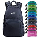 G4Free 20L Ultra Lightweight Packable Backpack Travel Hiking Daypack Foldable (Dark Grey)