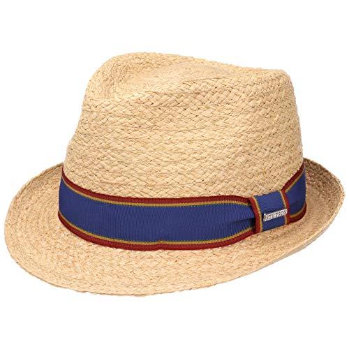 Leisial Moda Cappello Panama Uomini Primavera Estate Spiaggia allaperto Pura Tappo di Paglia di Colore