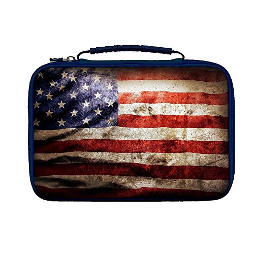 BigBen BC330571 Case USA für Tablets, rot/blau/beige - BC330571