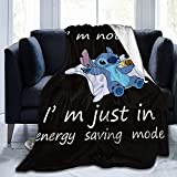 Cartoon Blanket Soft Comfortable and Warm Home Bed Sofa Flannel Suitable for All Season 50'X40'