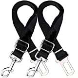 Verigle Pet Safety Leash Leads for Cats, Nylon Fabric Material, 2 PCS, Black