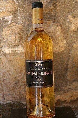 Weißwein, Sauterne, Chateau Guiraud 2006