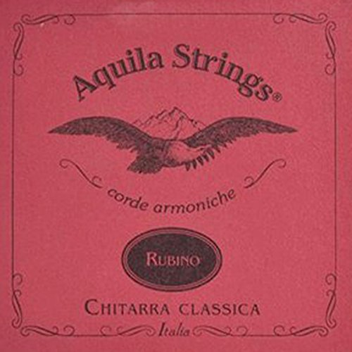 Aquila AQ C RS 134 C rubino Set Classic Guitar Normal Tension