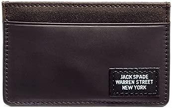 Jack Spade Waxwear Credit Card Holder