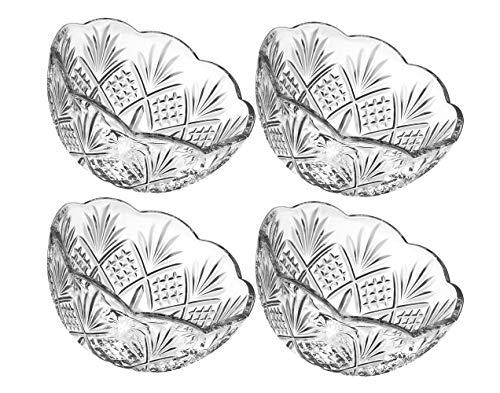 Godinger Dublin Candy Bowls Dish - Set of 4