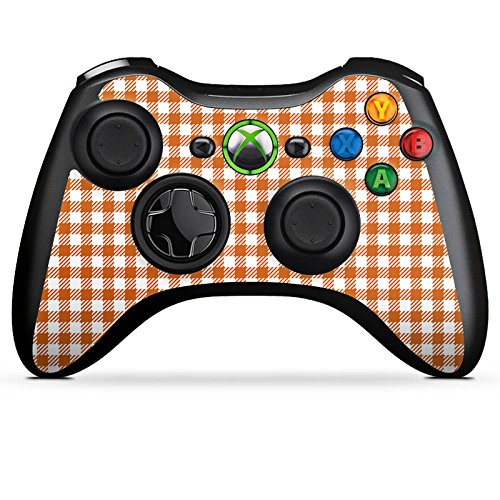 Skin kompatibel mit Microsoft Xbox 360 Controller Aufkleber Folie Sticker Karo Picknick Decke