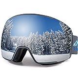 EverSport Ski Goggles Pro, Magnetic Snowboard Snow Goggles for Women Men, UV...