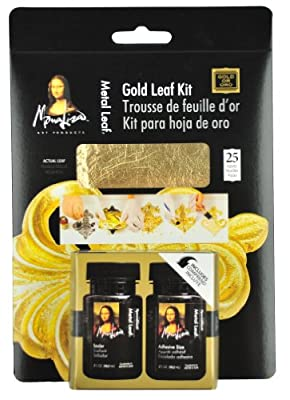 Speedball Mona Lisa Gold Leaf Kit (Pack of 3)
