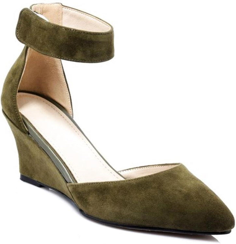 JIANXIN Damenmode Trend High Heels TPR (Rindfleisch Sehne) Sehne) Rot Schwarz Sandalen. (Farbe   Grün, Größe   EU 36 US 5.5 UK 3.5 JP 23cm)  Qualitätsprodukt