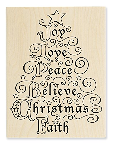 Stampendous Rubber Stamp, Joy Tree