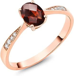 Best garnet ring in rose gold Reviews