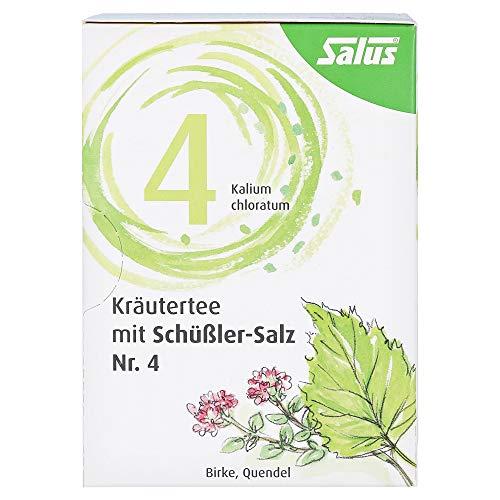 KRÄUTERTEE mit Schüssler-Salz Nr.4 Salus Fbtl. 15 Stück