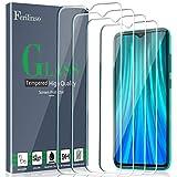 Ferilinso [4 Pack Panzerglas Schutzfolie Kompatibel mit Xiaomi Redmi Note 8 Pro, Gehärtetes Glas Bildschirmschutzfolie für Xiaomi Redmi Note 8 Pro Panzerglas (Transparent)