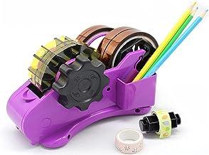 Tixiyu Sellotape Dispenser- Tape Houder Dispenser Tape Dispenser 2 Snijopties Pakket Tape Cutter