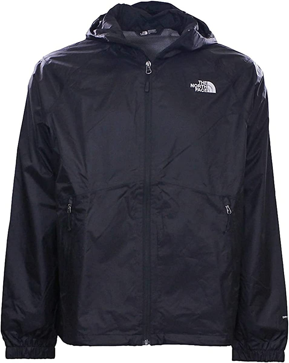 The North Face Men's Boreal Full Zip Hooded Dryvent Rain Jacket