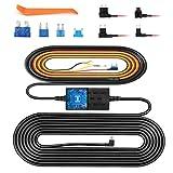 VanTop ドライブレコーダー 電源ケーブル V9H Mini USB電源直結コード 降圧ライン ACC連動低電圧保護 過電流保護 駐車監視 動体検知 12V/24V対応 2.5A/5V輸出