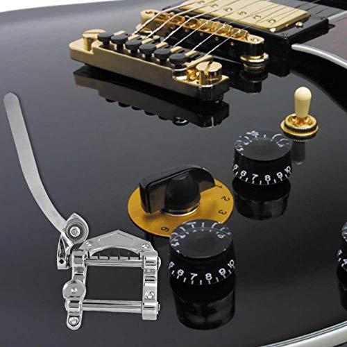 Estable guitarra eléctrica Tremolo sistema de trémolo sólido para cualquier técnico de guitarra para entusiastas de la guitarra (plata)