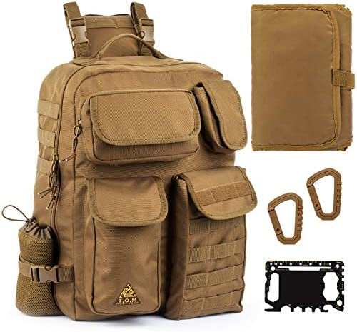 Sling Diaper Bag for Dad Single handed Diaper Changing System Waterproof Changing Pad Insulated product image